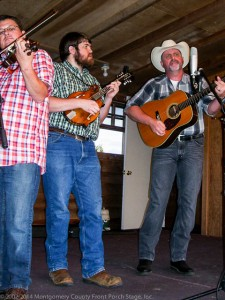 Paul DeWeber - fiddle; Peyton Murphy - mandolin; Derrick Ball - guitar.
