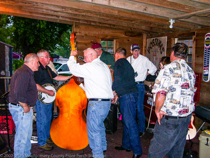 Great music happens when great musicians get together for an impromptu jam on a rained-out Friday night in Mount Ida