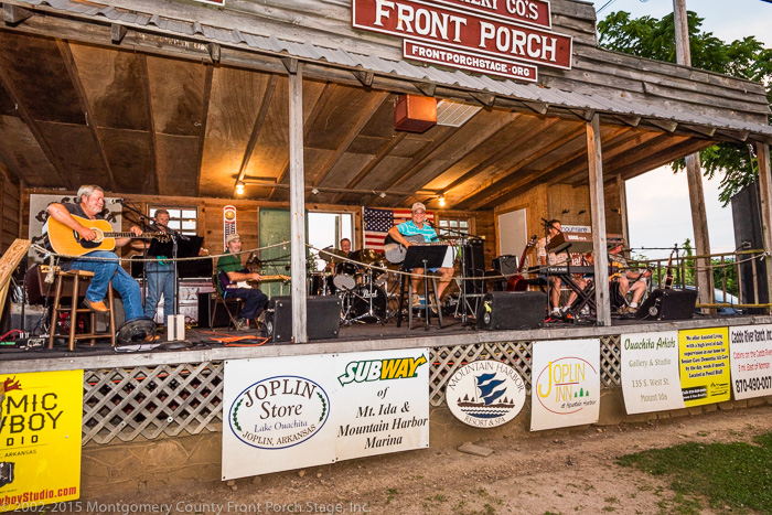 We always enjoy The Prairie Grove Band when they perform on The Front Porch Stage!