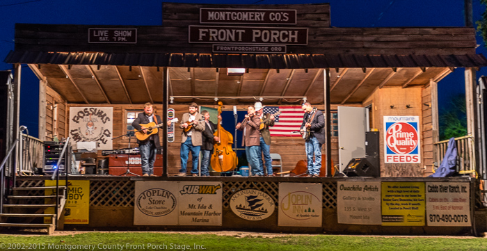 Interstate Thirty. A great bluegrass band on the Front Porch Stage