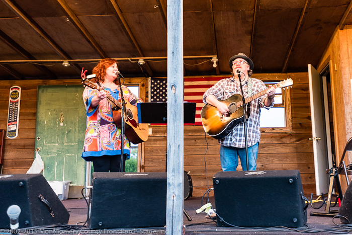 Amy Garland Angel and Mark Currey - A Great Performance for our Possum Picnic Crowd!