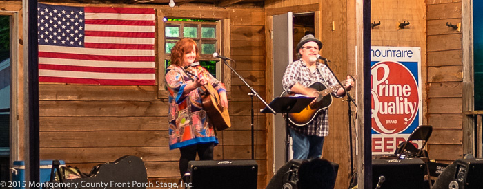 Amy Garland Angel and Mark Currey perform - Thank you for being here!