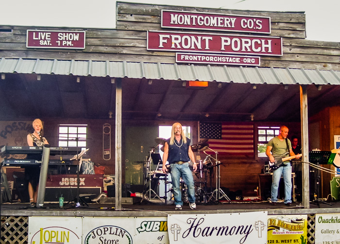 Harmony on the Front Porch Stage!<br />(Click on this image to view more photos from Aug. 27, 2016)