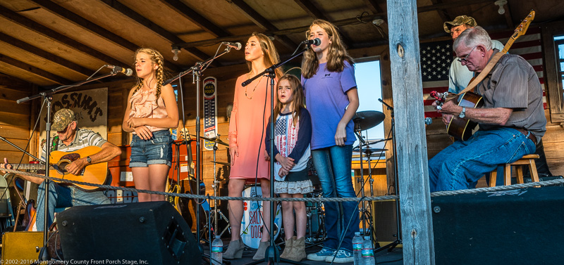 Robertson Tradition performs on the Front Porch Stage<br />(Click on this image to view more photos from Robertson Tradition)