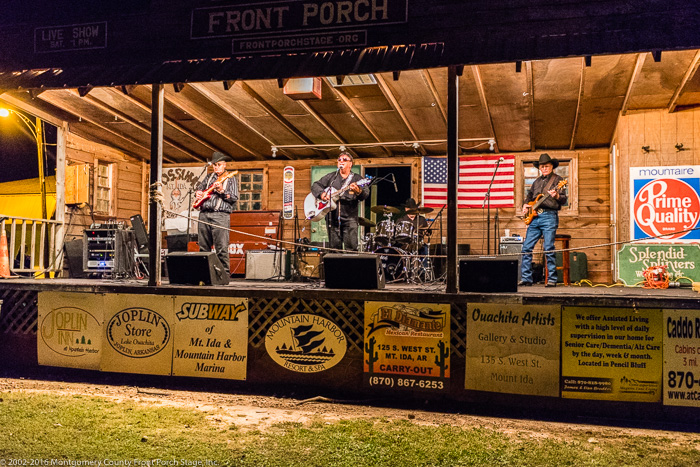 Gator and Friends on a cool October evening at the Front Porch Stage<br />(Click on this image to view more photos from Oct. 8, 2016)