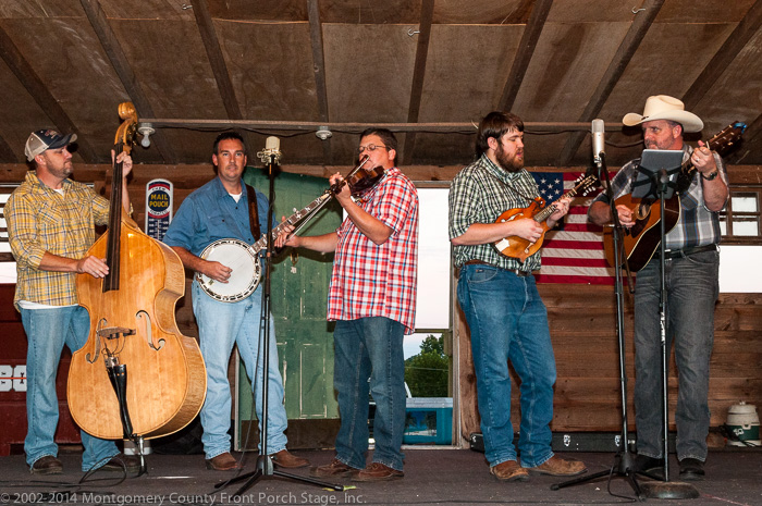Interstate Thirty put on a rousing show of great bluegrass!  Thank y'all for coming to Mount Ida.