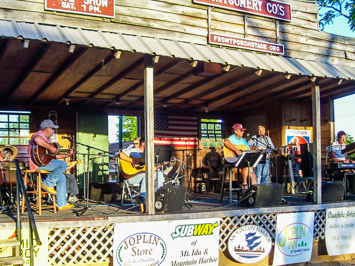 The Prairie Grove Band Kicks off the 2016 music season on the Front Porch Stage