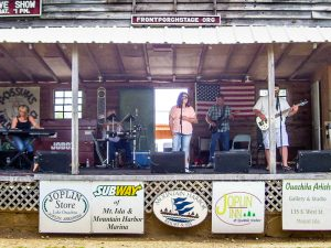 Crossroad on the Front Porch Stage