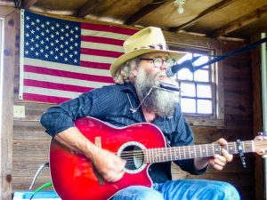 John Talley performs at Mount Ida's Good Ol' Days.