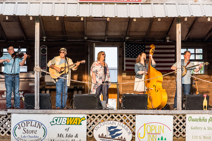 Posey Hill - Great Bluegrass on the Front Porch Stage!<br />(Click on this image to view more photos from June 11, 2016.)