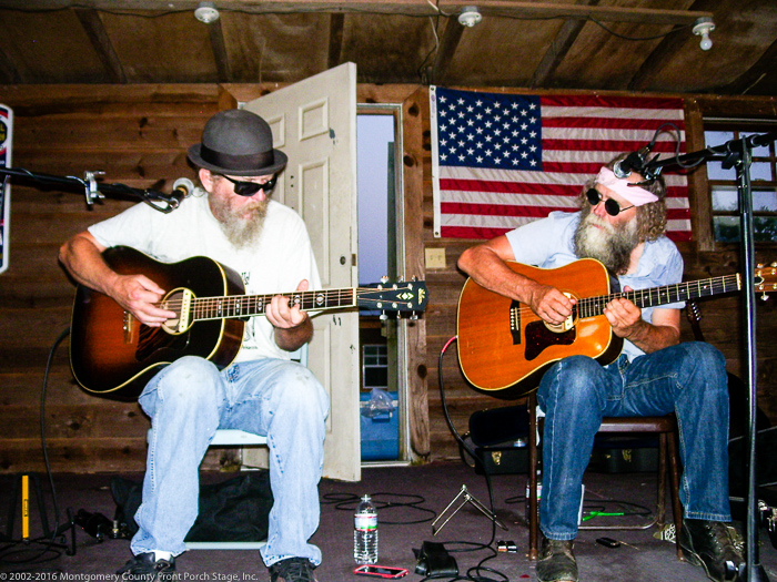 Dave Almond and John Talley. Always good together!<br />(Click on this image to view more photos from June 25, 2016.)