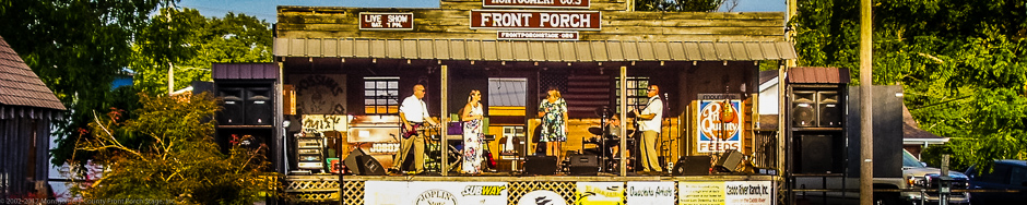 The Montgomery County Front Porch Stage