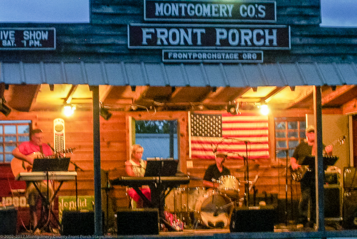 Oh Mercy on The Front Porch Stage. Thank Y'all for being here this evening!(Click on this image to view more photos from August 12, 2017)