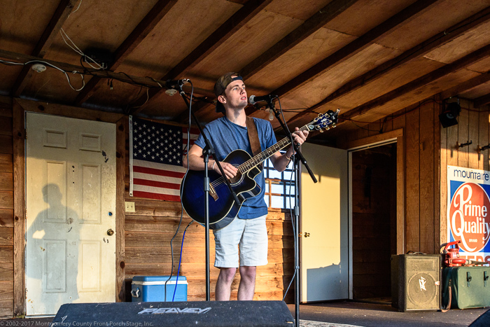 Thomas Stringfellow on the Front Porch Stage